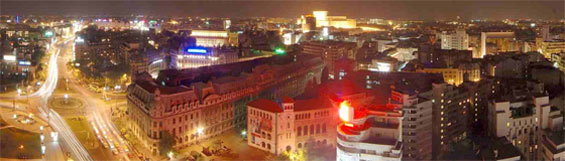 Pictures: Bucharest - Capital of Romania - Bucuresti - Bucarest - at night