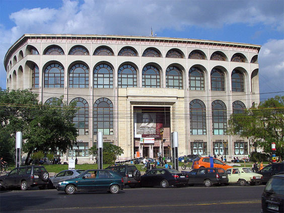 Gallery: National Theatre in Bucharest, also: Teatrul National, Bucuresti or even Teatrul National Ion Luca Caragiale