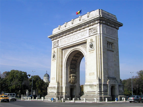 Gallery: The Arch of Triumph in Bucharest, also: Triumphal Arch or Arcul de Triumf, Bucuresti