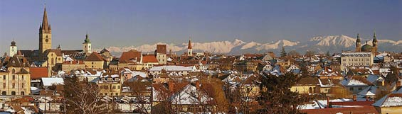 Pictures: Sibiu - Capital of Sibiu County - Hermannstadt or Nagyszeben